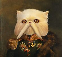 Persian Cat Emperor by CAnastase
