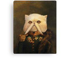 Persian Cat Emperor Canvas Print