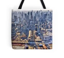 Early Morning Over New York City Tote Bag