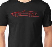 1968 Corvette Convertible Red Unisex T-Shirt