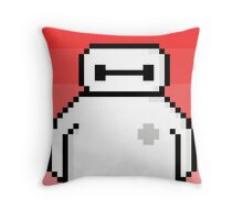 Pixel Baymax - I Am Your Personal Health Care Companion Throw Pillow