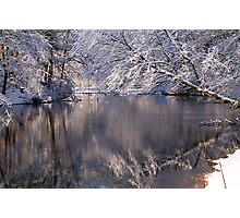 Reflections of Winter Photographic Print