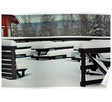Winter Tables Poster