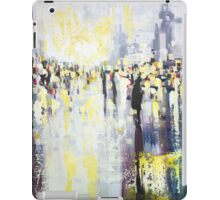 Artificial Lights, abstract city street landscape iPad Case/Skin