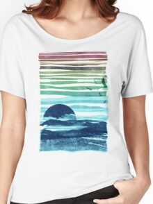 sea landscape Women's Relaxed Fit T-Shirt