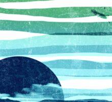 sea landscape Sticker