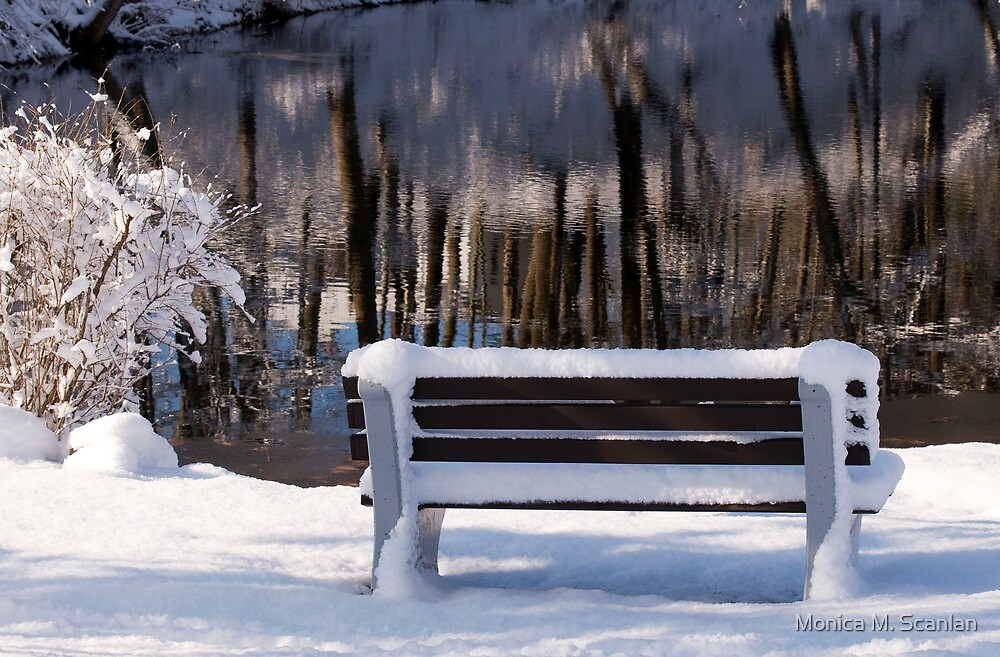 Waiting for Spring by Monica M. Scanlan