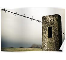 Fence against the storm Poster