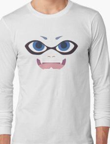 Inkling Face (blue) Long Sleeve T-Shirt