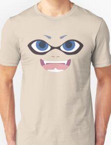 Inkling Face (blue) T-Shirt