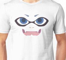 Inkling Face (blue) Unisex T-Shirt