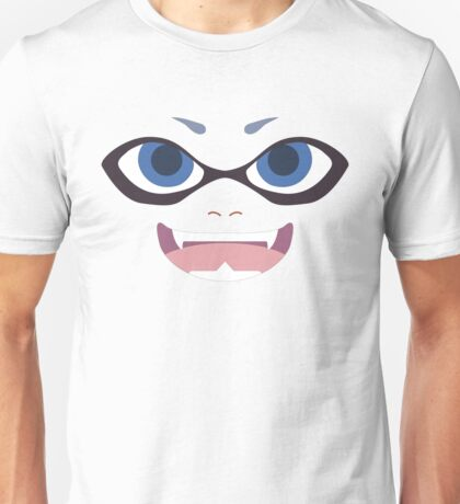 Inkling Face (blue) Unisex T-Shirt