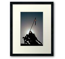 ~Iwo Jima Memorial~ Framed Print