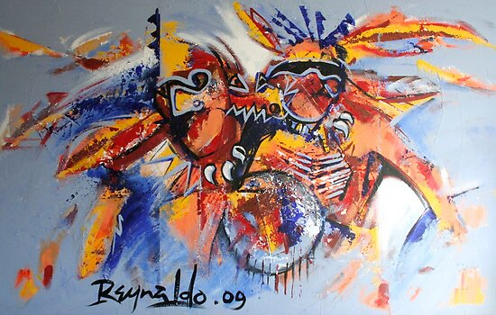 Spirit of The Warrior  by Reynaldo