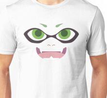 Inkling Face (green) Unisex T-Shirt