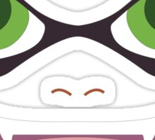 Inkling Face (green) Sticker