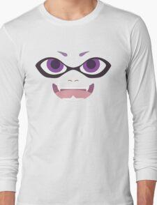 Inkling Face (purple) Long Sleeve T-Shirt