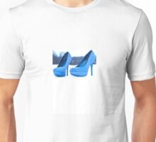 Blue shoes Unisex T-Shirt