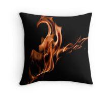 Flame Phoenix Throw Pillow