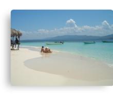 Paradise Island Canvas Print