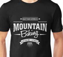 Mountain Biking Extreme Sport Graphic Art Unisex T-Shirt