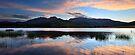 Dawn Reflections, Mount Buffalo, Australia by Michael Boniwell