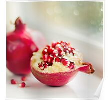 Powerful pomegranate Poster