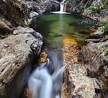 Rollason Falls, Mount Buffalo, Australia by Michael Boniwell