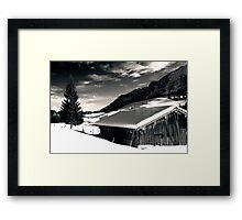 Winter, Austria Framed Print