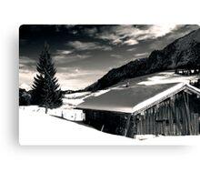Winter, Austria Canvas Print