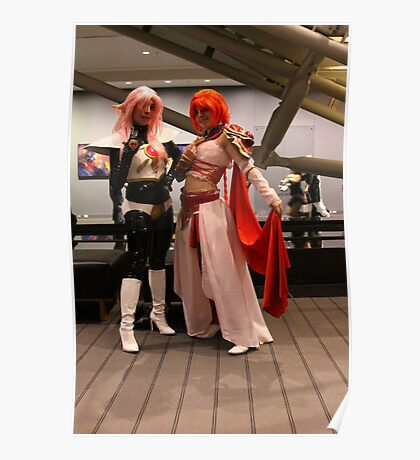 Young Cosplayers Poster