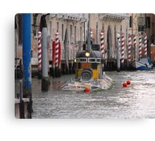 Yellow Submarine in Venice Canvas Print