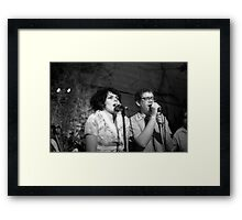 The Roofies 2 Framed Print