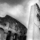 Coliseum - Rome, Italy by Kent DuFault