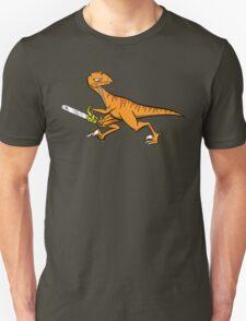 Chainsaw Dinosaur Unisex T-Shirt