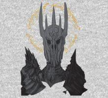 Sauron Black Speech Baby Tee