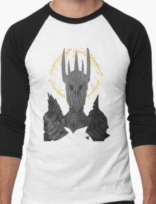 Sauron Black Speech Men's Baseball ¾ T-Shirt