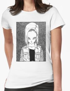 Android 18 Womens Fitted T-Shirt