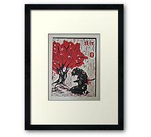 Hara Kiri Framed Print