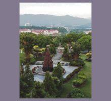 a large Malaysia landscape Kids Tee