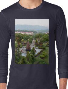 a large Malaysia landscape Long Sleeve T-Shirt
