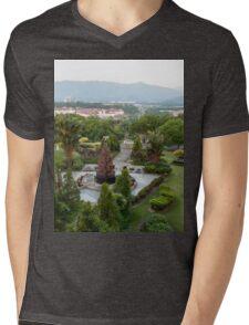 a large Malaysia landscape Mens V-Neck T-Shirt