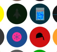 TV Shows icons Sticker