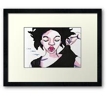 I conquer.  Framed Print