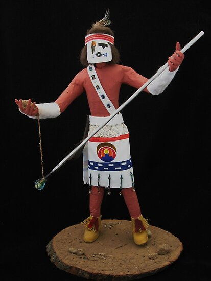 Hopi Kachina (Glass blower) by Libre-oiseau