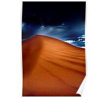 Dusk at Perry Sandhills Poster