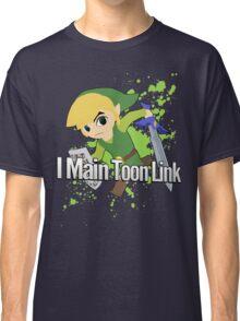 I Main Toon Link - Super Smash Bros. Classic T-Shirt