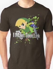 I Main Toon Link - Super Smash Bros. Unisex T-Shirt