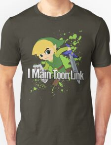 I Main Toon Link - Super Smash Bros. T-Shirt