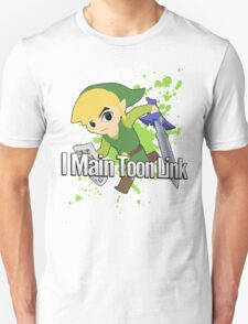 I Main Toon Link - Super Smash Bros. Unisex T-Shirt